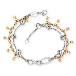 Engelsrufer ERBS-INFINITY-ZI-BI Ladies' Bracelet Boho Infinity Sign