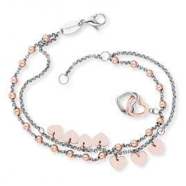 Engelsrufer ERBS-HEARTS-BI Ladies' Bracelet Boho Hearts