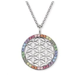 Engelsrufer ERN-LILLIFL-ZIM Women's Necklace Flower of Life Silver
