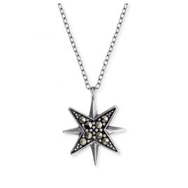 Engelsrufer ERN-LILSTAR-MA Silver Necklace for Ladies Star