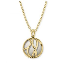 Engelsrufer ERN-LILPARADISE-PE-G Women's Necklace Paradise Gold-Plated