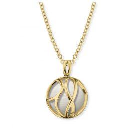 Engelsrufer ERN-LILPARADISE-PE-G Damen-Halskette Paradise Vergoldet