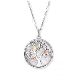 Engelsrufer ERN-FLYTREE-ZI-TRI Damen-Halskette Lebensbaum Tricolor
