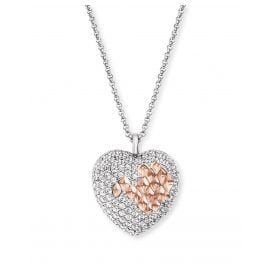 Engelsrufer ERN-DARLING-ZI-BIR Ladies' Necklace Silver Heart with Cubic Zirconia