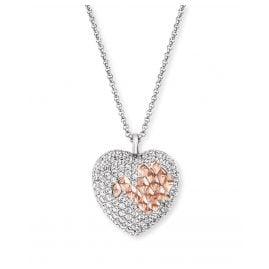 Engelsrufer ERN-DARLING-ZI-BIR Damen-Halskette Silber Herz mit Zirkonia