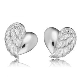 Engelsrufer ERE-LILHEARTWING-ST Ladies Ear Studs Heartwing