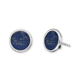 Engelsrufer ERE-LP-ST Silver Earrings for Ladies Powerful Stone Lapis Lazuli