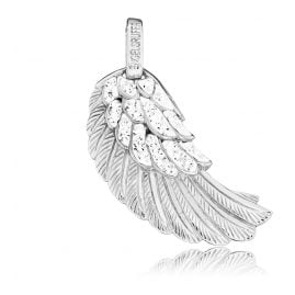 Engelsrufer ERW-01-ZI Wing Pendant Crystal Silver