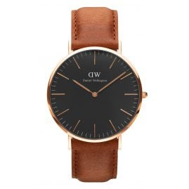 Daniel Wellington DW00100126 Herrenuhr Durham Rose Gold 40 mm