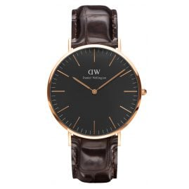 Daniel Wellington DW00100128 Herrenuhr York Rose Gold 40 mm