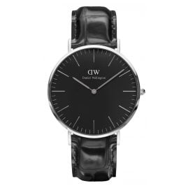 Daniel Wellington DW00100135 Herrenuhr Reading Silber 40 mm