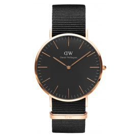 Daniel Wellington DW00100148 Herrenuhr Cornwall Rose Gold 40 mm