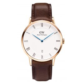 Daniel Wellington DW00100086 Dapper Bristol Rose Gold Armbanduhr 38 mm