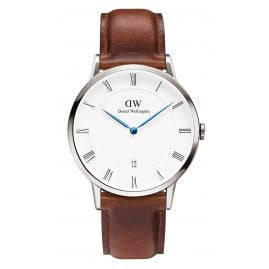 Daniel Wellington DW00100087 Dapper St. Mawes Silver Watch 38 mm