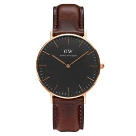 Daniel Wellington DW00100137 Damenuhr Bristol Rose Gold 36 mm