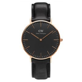 Daniel Wellington DW00100139 Damenuhr Sheffield Rose Gold 36 mm