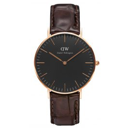 Daniel Wellington DW00100140 Ladies Watch York Rose Gold 36 mm