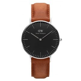 Daniel Wellington DW00100144 Ladies Watch Durham Silver 36 mm