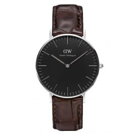 Daniel Wellington DW00100146 Ladies Watch York Silver 36 mm