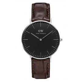 Daniel Wellington DW00100146 Damen-Armbanduhr York Silber 36 mm