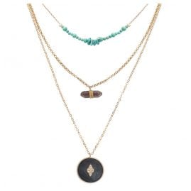 Hipanema H19BLIZBLK Necklace Blizzard Black