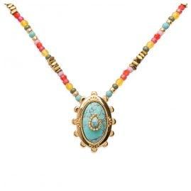 Hipanema E20GEORTU Ladies' Necklace Georgia Turquoise
