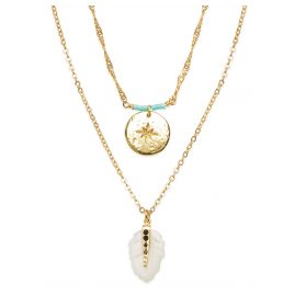 Hipanema E20PLATWH Ladies' Necklace Platinium White