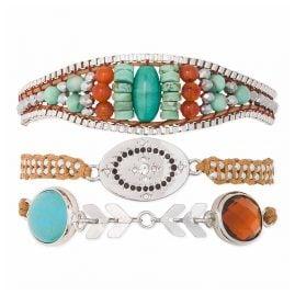 Hipanema H19MKYLIZU Damen-Armband Kylie-Link