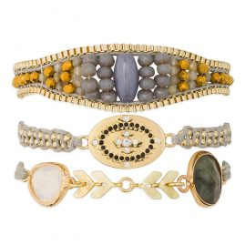 Hipanema H19MTAYLWH Damen-Armband Taylor-Link