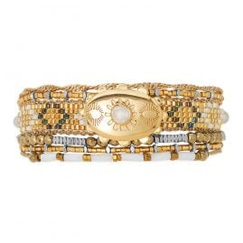 Hipanema H19MELDOGO Ladies Bracelet Eldorado Gold Tone