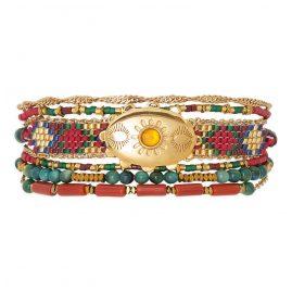 Hipanema H19MELDOTE Damen-Armband Eldorado Terracotta