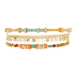 Hipanema E20QUEEMUL Women's Bracelet Queeny Multicolor