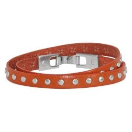 Josh 18067 Leather Bracelet Orange