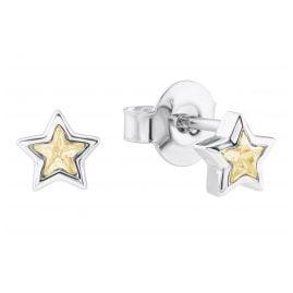 Prinzessin Lillifee 2024373 Silber Mädchen-Ohrringe Stern