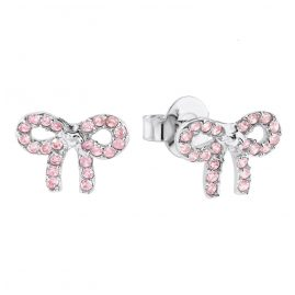 Prinzessin Lillifee 2024368 Silver Children's Earrings Bow