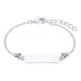 Prinzessin Lillifee 2027217 Silber Kinder-Armband Stern