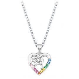 Prinzessin Lillifee 2027876 Silver Kids Necklace Heart A