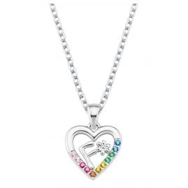 Prinzessin Lillifee 2027881 Silver Girls Necklace Heart F