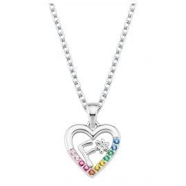 Prinzessin Lillifee 2027881 Silber Mädchen-Halskette Herz F
