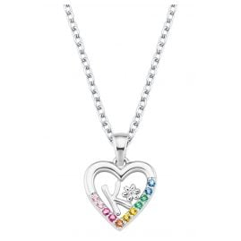 Prinzessin Lillifee 2027884 Silver Girls Necklace Heart K