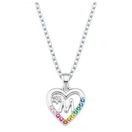 Prinzessin Lillifee 2027886 Silver Kids Necklace Heart M