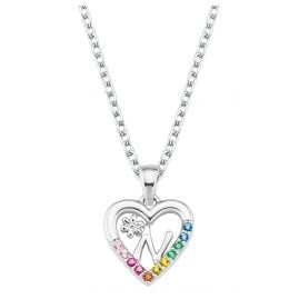 Prinzessin Lillifee 2027887 Silver Girls' Necklace Heart N
