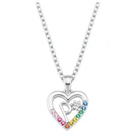 Prinzessin Lillifee 2027890 Silver Kids Necklace Heart P