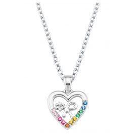 Prinzessin Lillifee 2027891 Silver Children's Necklace Heart R