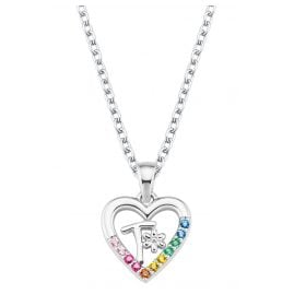 Prinzessin Lillifee 2027894 Silver Children's Necklace Heart T