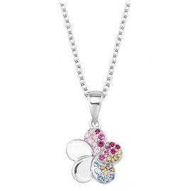 Prinzessin Lillifee 2027896 Silber-Halskette für Kinder Blume