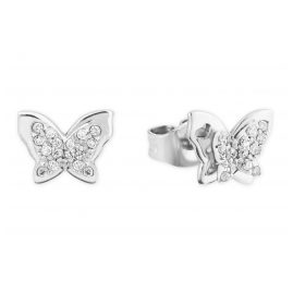 Prinzessin Lillifee 2027902 Silver Girls' Earrings Butterfly