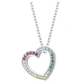 Prinzessin Lillifee 2027903 Silver Kids Necklace Heart
