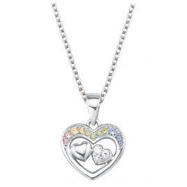 Prinzessin Lillifee 2027905 Silber-Halskette für Kinder Herz