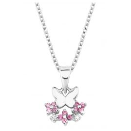 Prinzessin Lillifee 2027888 Silver Kids Necklace Butterfly